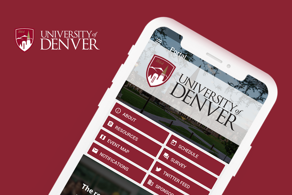 Eventus App for Denver University's Orientation