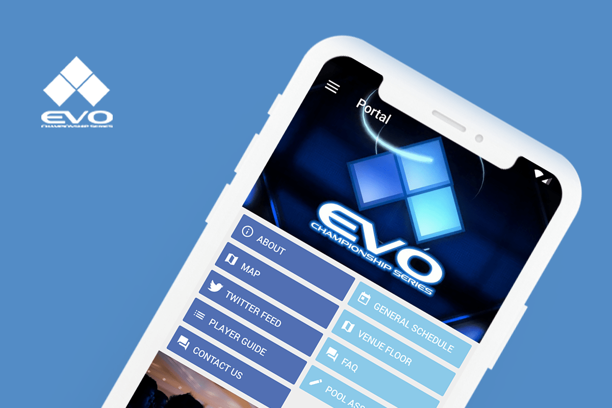Eventus App for EVO 2018